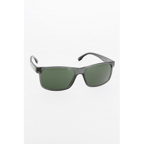 Men's Dark Grey Frame Black Arms Sunglasses