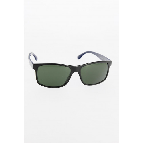 Men's Black Frame Navy Blue Arms Sunglasses