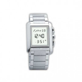 Alfajr Classic Watch with Folding bracelet WS-06S - Grey