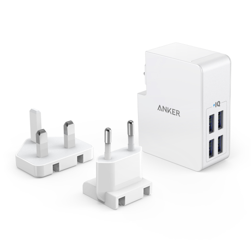 Anker PowerPort 27W - 4Ports- White