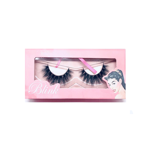 Blink 3D Mink Lashes On Fire