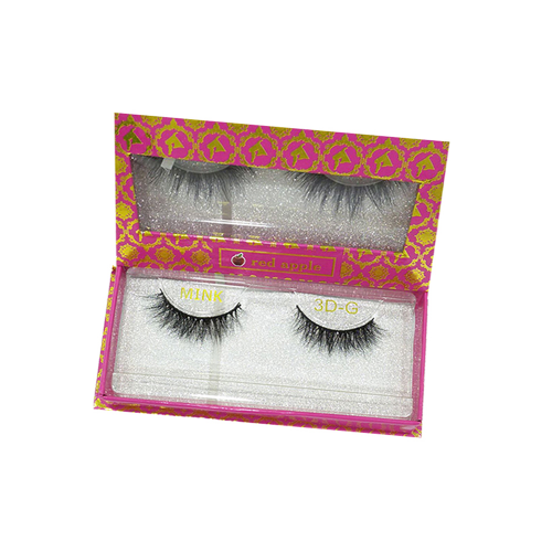 Natural Eyelashes 3D by Red Apple - G
