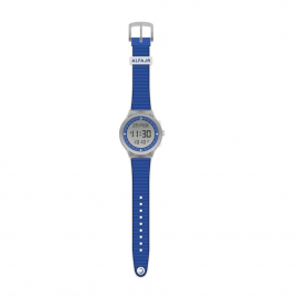 Alfajr Sport Watch with Rubber Strap and case WY-16 - Blue and white