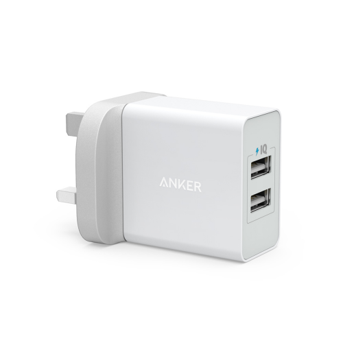 Anker PowerPort 24 W - 2 Ports -White