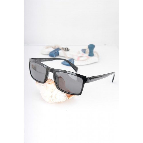 Black Metal Light Frame Sunglasses