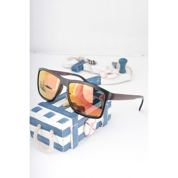 Detailed Black Framed Sunglasses