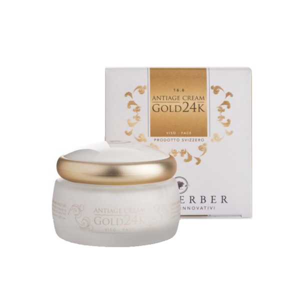 GOLD 24k anti-ageing cream 50m/16.6