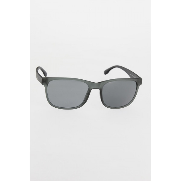 Men's Grey Frame Sunglasses