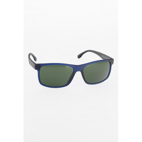 Men's Navy Blue Frame Black Arms Sunglasses