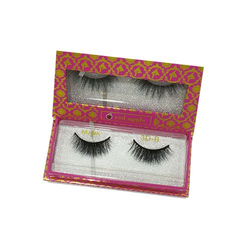 Natural Eyelashes 3D by Red Apple- B