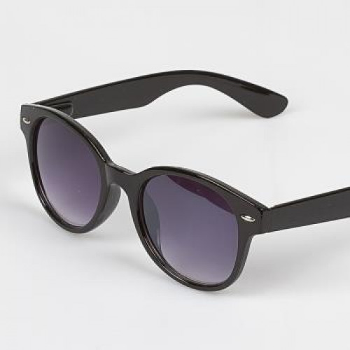 Unisex Black Frame Sunglasses